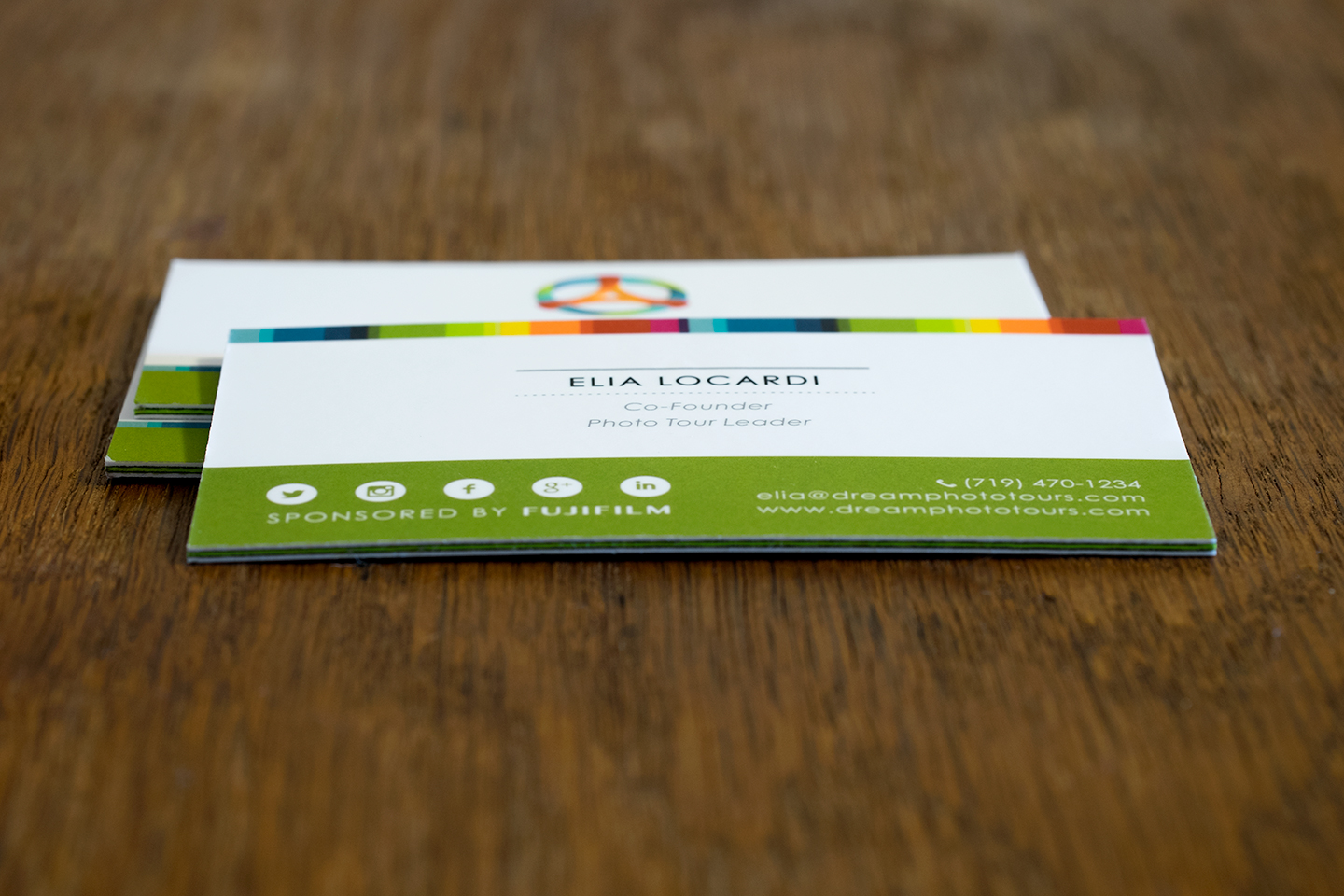 Unique dream business card design from jukeboxprint jukebox offers a wide range of paper colours for the inside and can even use multiple colours to create a pattern for the middle layer magicingreecefo Images