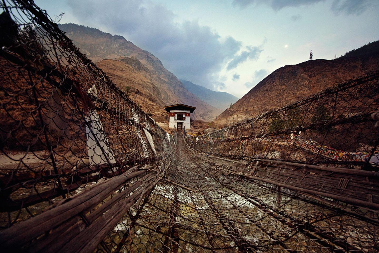 An Ancient Chain Bridge